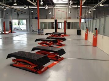 Garage Inrichting Gebruikt : Rocar tech garage equipment b v hefbruggen emissiesets apk